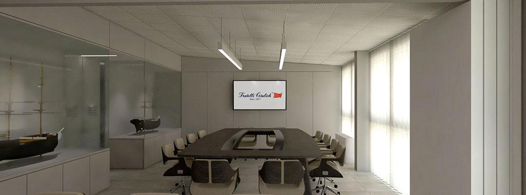 Uffici Fratelli Cosulich S.p.A. – proposta progettuale – 2019