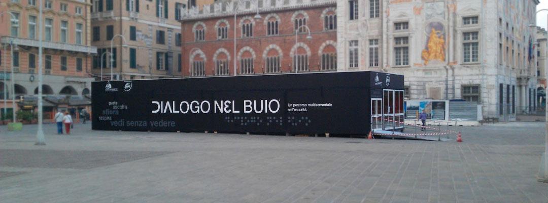 Dialogo nel Buio – Genova, Darsena