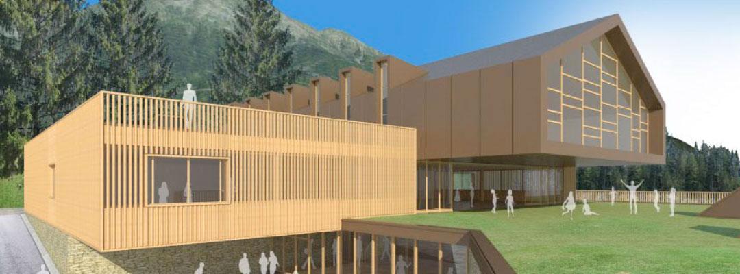 Edificio polifunzionale a Sappada